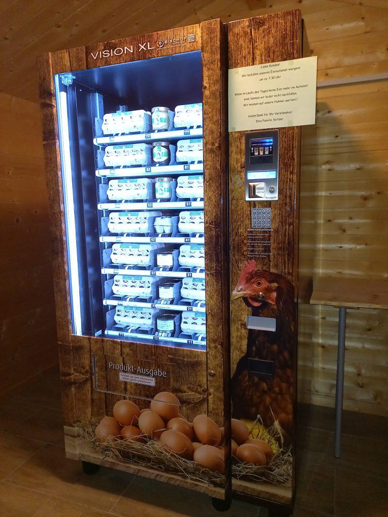 Der Eierautomat